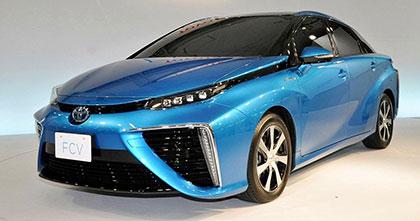 トヨタの燃料電池車への取り組み